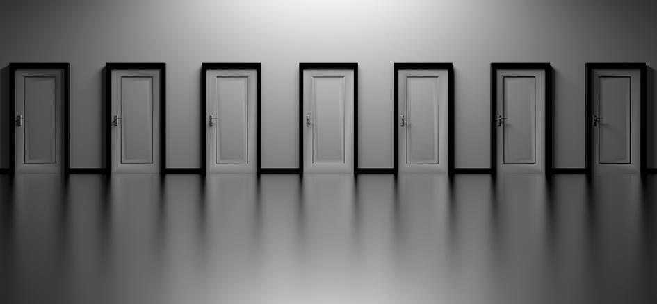 Vor allem bei Türen hat man eine große Auswahl